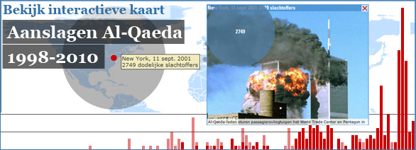 Interactieve graphic: Aanslagen Al-Qaeda